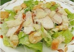 Цезарь с печёным цыпленком , пошаговый рецепт с фото