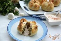 """Булочки с соусом """"Манты"""" – кулинарный рецепт"""