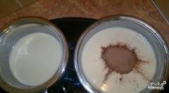 Кекс с йогуртом и какао, пошаговый рецепт с фото