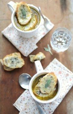 Луковый суп с красным вином – кулинарный рецепт