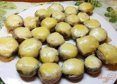 Бескостная курица, фаршированная грибами, пошаговый рецепт с фото
