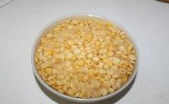 Гороховый суп с гренками - приготовления блюда - шаг 1