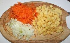 Гороховый суп с гренками - приготовления блюда - шаг 4