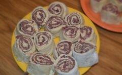 «Штрудели с фаршем и картофелем» - приготовления блюда - шаг 7