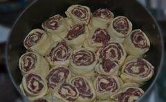 «Штрудели с фаршем и картофелем» - приготовления блюда - шаг 8