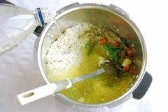 Бириани из цесарки, пошаговый рецепт с фото