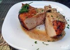 Даллас стейк на косточке (гриль), пошаговый рецепт с фото