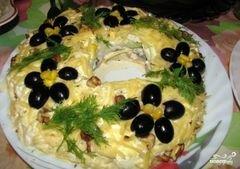 """«Салат """"Леший""""» - приготовления блюда - шаг 9"""