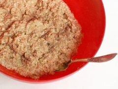Котлеты в сухарях в духовке - приготовления блюда - шаг 3