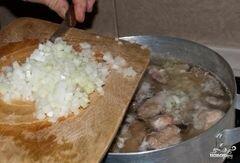 Соус с курицей и картошкой - приготовления блюда - шаг 5