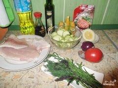 Рыба в фольге с кабачками – кулинарный рецепт
