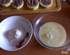 Фаршированные сушки с кабачками в сырном кляре – кулинарный рецепт