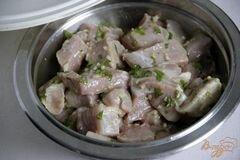Морской окунь с мятным соусом, пошаговый рецепт с фото