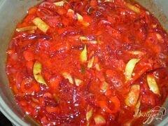 «Постный борщ со спаржевой фасолью» - приготовления блюда - шаг 5
