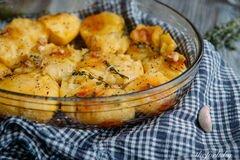 «Запеченный картофель по рецепту Джейми Оливера» - приготовления блюда - шаг 4
