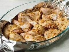 Камбала в фольге в пикантном маринаде – кулинарный рецепт