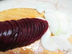 Маринованная свекла с луком и горчицей – кулинарный рецепт