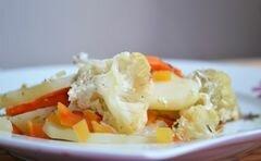 Запеканка овощная с куриной печенью – кулинарный рецепт