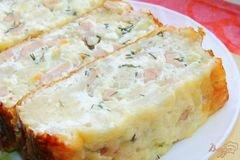 Нежная сырная запеканка с цветной капустой – кулинарный рецепт