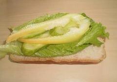 "Бутерброд ""Летний"" – кулинарный рецепт"