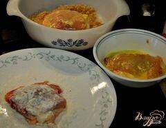 Запеченная курица с хлебным гарниром, пошаговый рецепт с фото