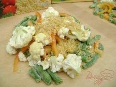 Булгур с овощами, пошаговый рецепт с фото
