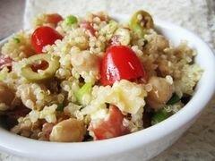 Салат из киноа в магрибском стиле, пошаговый рецепт с фото